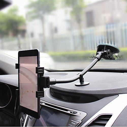 Brila® Long Arm Smartphone and Tablet Universal Windshield