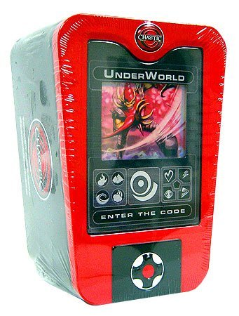 Chaotic Card Game 2008 Scanner Deck Box Holiday Tin Underworld by Chaotic
