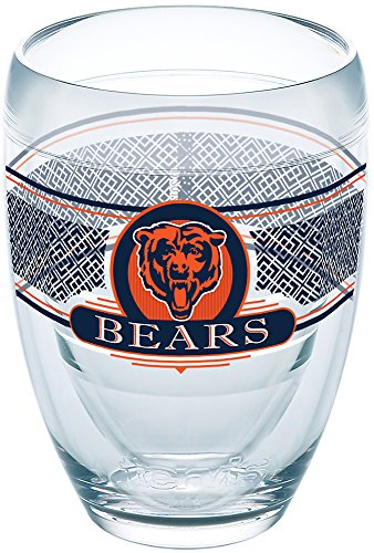 (Tervis 1227706 Chicago Bears Select Tumbler 9 oz Clear)