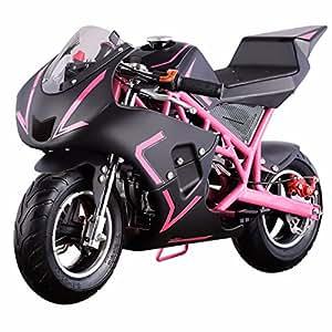 v fire 4 stroke 40cc kids gas pocket bike epa. Black Bedroom Furniture Sets. Home Design Ideas