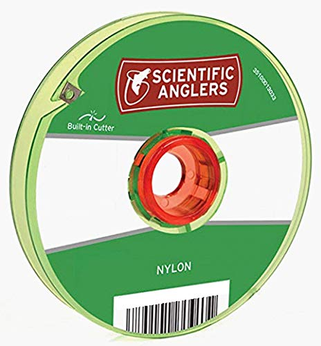 (Scientific Anglers Nylon Interlocking Tippet Spool with Cutter, Clear, 4X - 30)