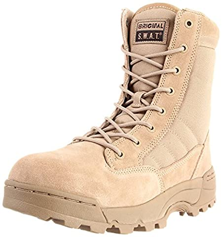 Original S.W.A.T. Men's Classic 9 Inch Tactical Boot, Tan, 12 D US - Footwear Combat Boots