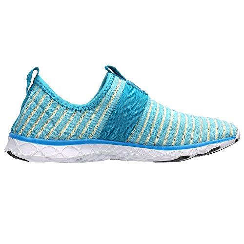 Aleader Lacets Chaussures Lightblue76 Sans D'eau Pour Femmes rgrqT