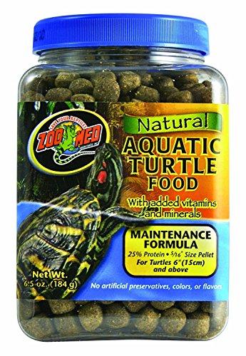 Zoo Med Natural Aquatic Turtle Food - Maintenance Forumla 6.5 Ounce For Aquatic Turtle