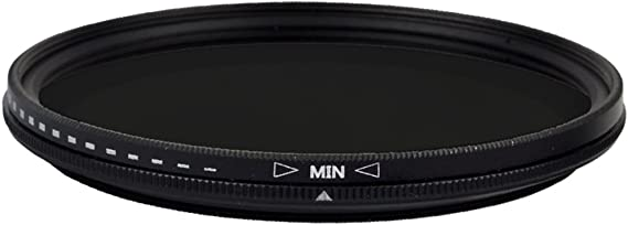 Zomei 52mm Ultra Slim ND2-ND400 Fader Variable Neutral Density Adjustable ND Lens Filter Optical Glass