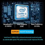 AWOW Mini PC Windows 10 Pro, Micro Mini Desktop Computer 8GB DDR 128GB SSD Intel Core i3 5005U 2.3GHz 4K UHD Graphics 2…