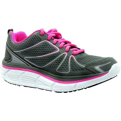 Danskin Now Womens' Max Cushion Running Shoe (6.5 M) Grey