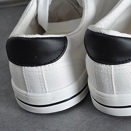 stile 39 basse coreano tela surf Espadrillas di di Bianca basse uomo Color estate aiuto da scarpe Scarpe da da Scarpe Bianca scarpe di uomo scarpe Size YaNanHome qzx4wv54