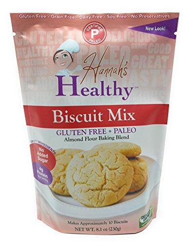 - Hannah's Healthy Paleo, Gluten-Free Biscuit Mix