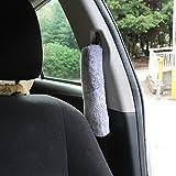 GAMPRO 4-Pack Purple Auto Car Seat Belt Cover Plush