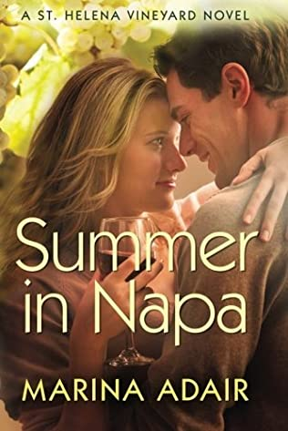 book cover of Summer in Napa