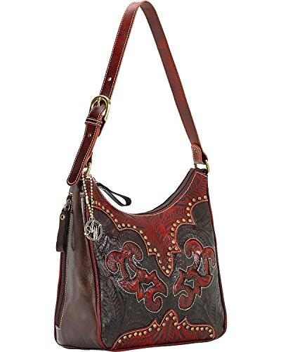 9150629 American West Women's Annie's Secret Purse - (American West Leather Handbag)