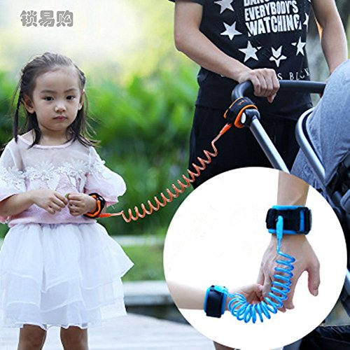 Price comparison product image Toddler Baby Kids Safety Harness Cut Continuously Child Leash Anti Lost Wrist Link Traction Rope Locktraction CZL8057
