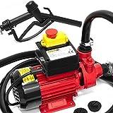 Dieselpumpe Ölabsaugpumpe Ölpumpe Kraftstoffpumpe Zapfsäule Öl Diesel Heizöl 600 W 40L/Min