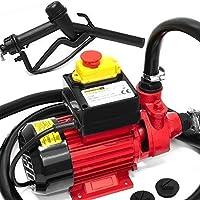 Monzana® Dieselpumpe Ölabsaugpumpe Heizöl | 600 W | 40L/Min - Ölpumpe Kraftstoffpumpe Zapfsäule Öl Diesel