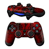 Cheap MODFREAKZ Pair of Vinyl Controller Skins – Blood Military War Shooter for Playstation 4