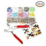 (US) Metal Prong Ring Snap Button Fastener Snap Pliers Craft Press Studs Sewing Craft Tool