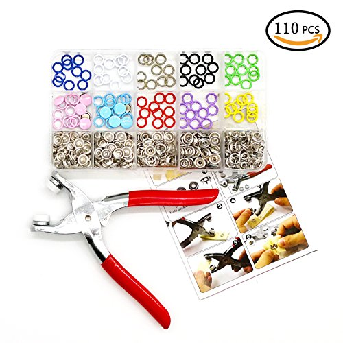 Big Save! Metal Prong Ring Snap Button Fastener Snap Pliers Craft Press Studs Sewing Craft Tool