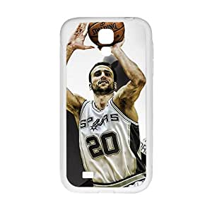 SANLSI SAN ANTONIO SPURS Basketball NBA White Phone Case for Samsung Galaxy S4
