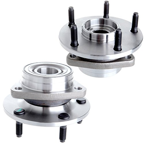 Wheel Hub Bearing fits 1994-1999 Dodge Ram 1500 4WD 5 Lugs Compatible with 515006 ()