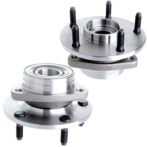 (Wheel Hub Bearing fits 1994-1999 Dodge Ram 1500 4WD 5 Lugs Compatible with 515006 2pcs)