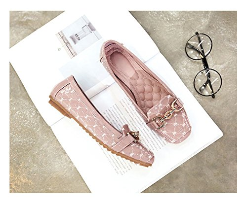Dames Klassieke Casual Mode Opvouwbare Comfy Ballet Flats Puntschoen Flats Schoenen S-23