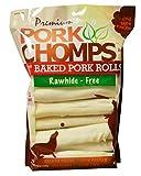 Scott Pet 18 Count Pork Chomps Premium Baked 8″ Rolls (1 Pouch) Review
