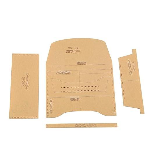 XBC-01 - Plantilla de acrílico transparente hecha a mano ...