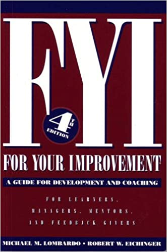 Fyi For Your Improvement Ebook