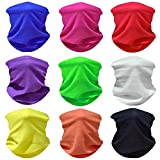 WONBURY Headwear Headband Face Shields Bandana Neck Gaiter Headwrap Balaclava Helmet Liner Mask Versatile Sports Casual Multifunctional Seamless for Camping Running Cycling Fishing Sport Hunting