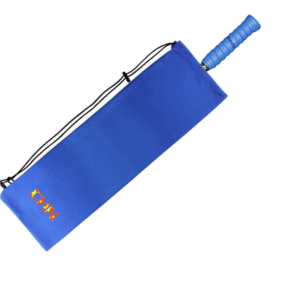 Flanneletteバドミントンラケットバッグ、ブルー B06XTL383K