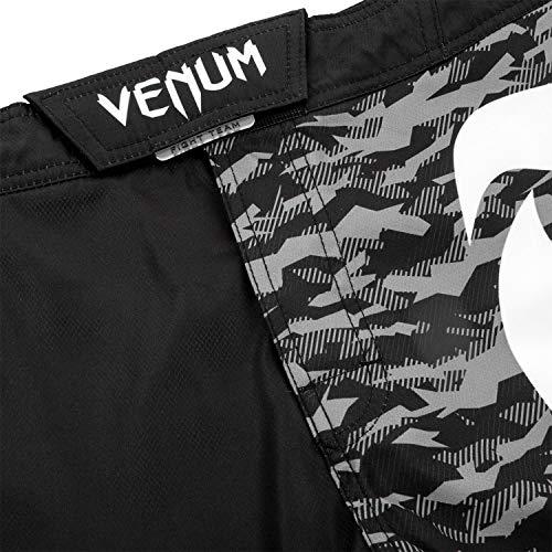 Light 0 Nero 3 white Uomo Venum Fightshorts Black Pantaloncini wHqwCE