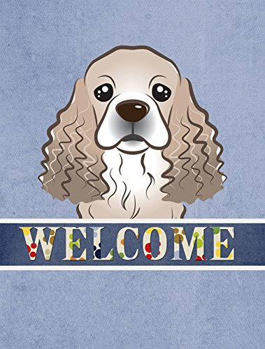 Cocker SpanielWelcome Flag
