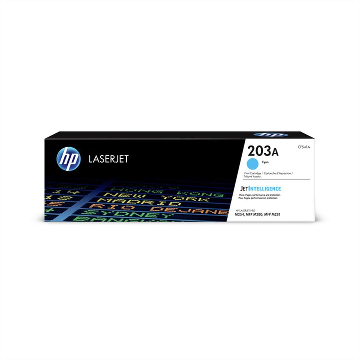 T/óner color Amarillo Hewlett Packard CF542X