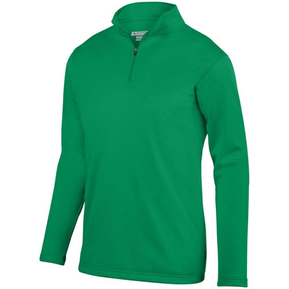 Medium Augusta Sports Youth Wicking Fleece Pullover Kelly