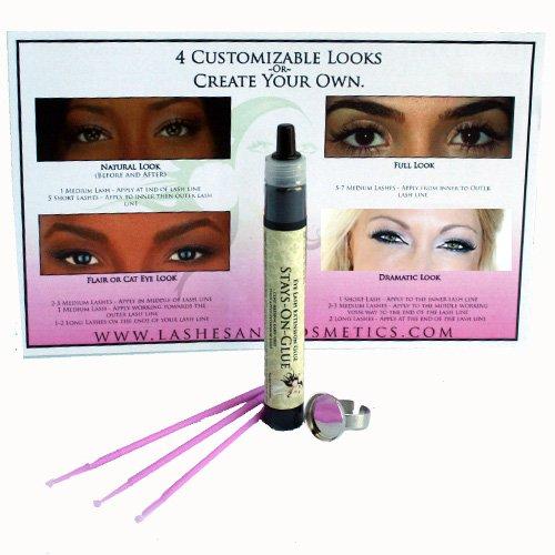 Amazon.com : Lashes & Cosmetics Eyelash Extension Glue   Stays-on ...