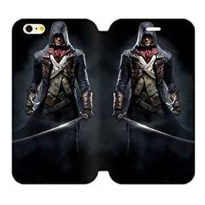 High Quality Assassin's Creed Black Flag Game Iphone 6 4.7 Shell Case Cover (Laser Technology)