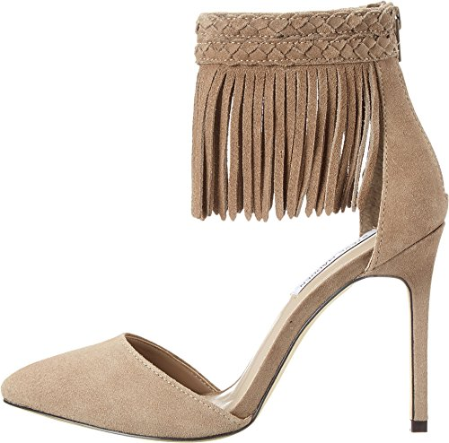 Steve Madden Women's Melia Taupe Suede D'Orsay 7.5 M