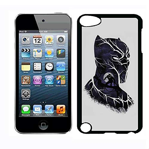 (HXSJK iPod Touch 5th Case Black Case Panther iPod Touch 5th iPod Touch 6th Case,PC Hard Case)