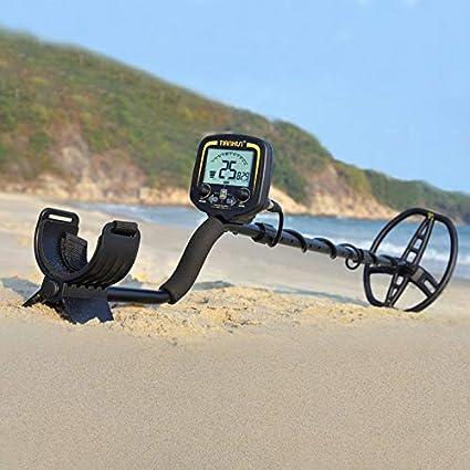Goldyqin TX-850 Detector de Metales Profesional de 2, 5 m Metro de Profundidad Buscador de escáner Detector de Oro Cazador de Tesoros Detectando Pinpointer: ...