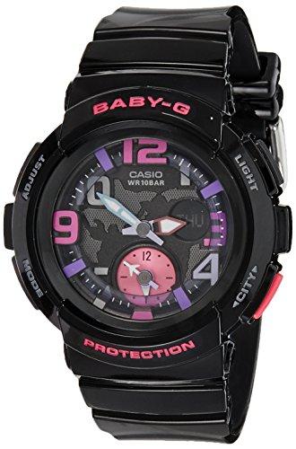 Casio Women's BGA190-1B Baby-G Analog-Digital Display Watch NEW