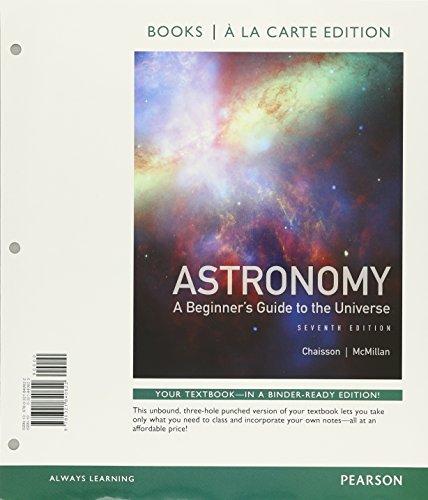 Astronomy: A Beginner's Guide to the Universe, Books a la Ca