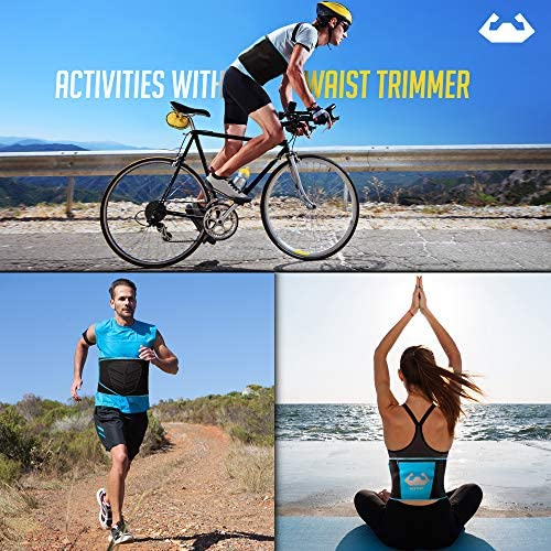 Back To Fit Waist Trimmer for Men and Women for Workout and Sweat ABS 4
