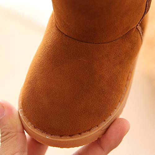 PENGYGY Baby Shoes New Fashion Cute Toddler Winter Baby Child Style Cotton Boot Boys Girls Warm Snow Boots by Pengy--Shoes (Image #4)