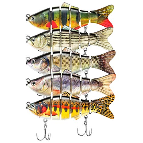 Live Target Swimbait TRS109MS712 Trout Silver Olive Green 4 Inch