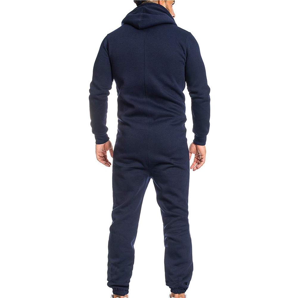 Amazon.com: Easytoy Mens One Zip Up Onesies, Hoodies Jumpsuit Playsuit All in One Piece: Sports & Outdoors