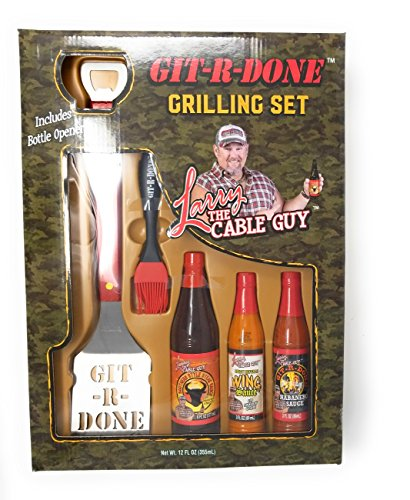 Larry the Cable Guy Git-R-Done Holiday Grillin' Set