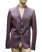 Gucci Men's Multi-Color Cotton Jacket Hysteria Detail Blazer 255468 EU 56R / 46R
