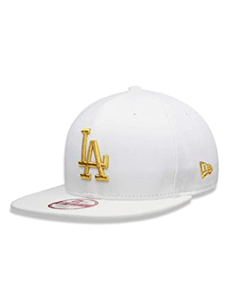 91290361cd580 BONE 950 ORIGINAL FIT LOS ANGELES DODGERS MLB ABA RETA STRAPBACK BRANCO NEW  ERA