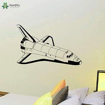 Vinilo Tatuajes de pared Galaxy Espacio exterior Cohete Explora el ...